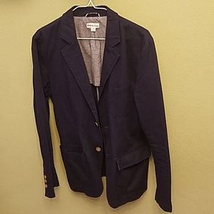 Merona Navy Blue Casual Blazer